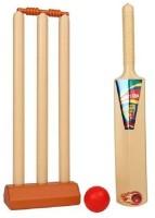 Nabhya Plastic Stump Set with Bat & Ball Cricket Kit Cricket Kit