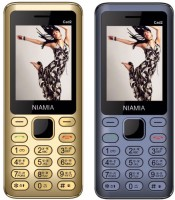 Niamia Cad 2 Combo Of Two Mobiles(gold&blue)