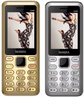 Niamia CAD 2 Combo of Two Mobiles(Gold&Silver)