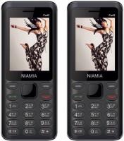 Niamia CAD 2 Combo of Two Mobiles(Black)
