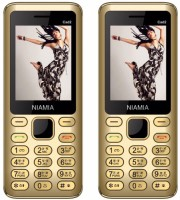 Niamia CAD 2 Combo of Two Mobiles(Gold)