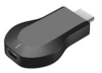 M-FIT WiFi HDMI Dongle & Wireless Display for TV\Laptop\Desktop\Tablet Compatible with All Smartphone Data Card(Black)