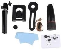 TSV Universal 12X Zoom Mobile Phone Telescope Lens with Adjustable Clip Mobile Phone Lens Design  Lens(Black, 20-30)