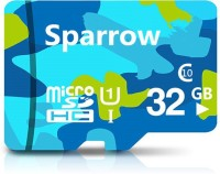 Sparrow Ultra 95 mbps 32 GB MicroSD Card Class 10 95 MB/s  Memory Card