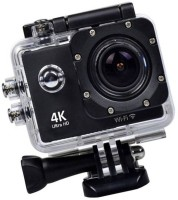 OSRAY Action Camera Waterproof Sports 4K Wifi Action Camera – 4K Ultra HD, 16MP,2 Inch LCD Display, HDMI 170 Degree Wide Angle Sports and Action Camera(Black, 16 MP)