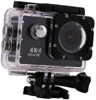 OSRAY action Camera 4K Sports Action Camera Portable Package,12MP Ultra HD 30M Waterproof Sports and Action Camera(Black, 16 MP)