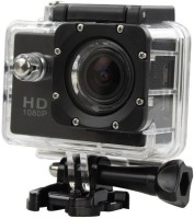 OSRAY Full HD 1080p Sport Action HD 1080p 12mp Waterproof Action Camera best quality Sports and Action Camera(Black, 12 MP)