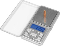 Granny Smith High Precision Jewellery Weight Machine With 200g Capacity & Blue Backlite Portable Pocket Weighing Scale(Silver)
