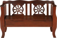 Woodness Hazel Solid Wood 2 Seater(Finish Color - Dark Oak)