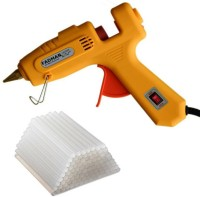 FADMAN Crown Yellow 60/100W Dual Power High Temp Heavy Duty Glue Gun Kit With 50 Premium Glue Sticks For DIY,Small Arts Craft Projects Standard Temperature Corded Glue Gun(11 mm)