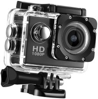 OSRAY Full HD 1080p Action Camera HD 1080p 12mp Waterproof Action Camera best quality Sports and Action Camera(Black, 12 MP)