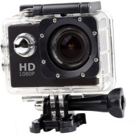 OSRAY Sport Camera Action Camera best quality HD 1080p 12mp Waterproof Sports and Action Camera(Black, 12 MP)