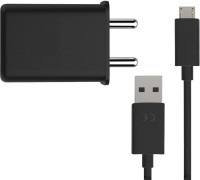 ARTA Turbo Power 15+ Wall Charger 3 A Mobile Charger with Detachable Cable(Black, Cable Included)