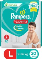 Pampers Baby-Dry Pants Diaper - L(20 Pieces)