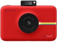 Polaroid Snap Touch Instant Print Camera with LCD Touchscreen Display (Red) Instant Camera(Red)