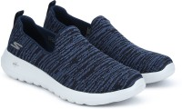 Skechers GO WALK MAX - INFINITE Walking Shoes For Men(Black, Navy)