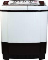 Daenyx 7.5 kg Semi Automatic Top Load White, Maroon, Black(DWS75BR)