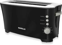 HAVELLS Feasto 4 Slice 1350 W Pop Up Toaster(Black)