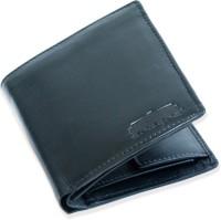 Arpera Men Casual, Formal, Travel Black Genuine Leather Wallet(8 Card Slots)
