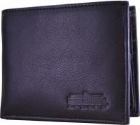 Arpera Men Casual, Formal Black Genuine Leather Wallet(8 Card Slots)