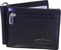 Arpera Men Casual, Formal Black Genuine Leather Wallet(6 Card Slots)