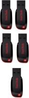 SanDisk 2.0 Cruzer combo 16 GB Pen Drive(Red, Black)
