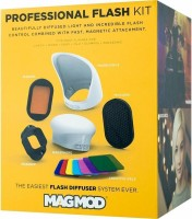 MagMod Professional Kit Compatible with all Flashes Modifier Diffuser(Multicolor)