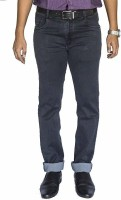 0-Degree Slim Men Grey Jeans