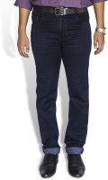 0-Degree Slim Men Dark Blue Jeans