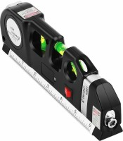 Techtest Laser Beam Levelling device with Bubble Indicator Measuring Tape-Accurately Hang Frames, Mirrors Pro Laser Beam Level/Levelling device with Bubble Indicator Measuring Tape-Accurately Hang Frames , Mirrors Level Pro 3, ( Laser Leveller ) Non-magnetic Line Level(30 cm)