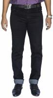 0-Degree Slim Men Black Jeans