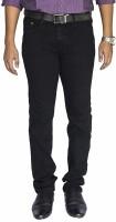 0-Degree Skinny Men Black Jeans