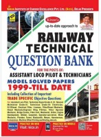 Railway Technical For Assistant Loco Pilot And Tecnician Question Bank Model Solved Papers (1999 - Till Date) (Paperback, English,Kiran Prakashan, Pratiyogita Kiran, Kicx)(Papeback, Kiran Prakashan, Pratiyogita Kiran, Kicx)
