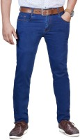 0-Degree Slim Men Blue Jeans