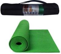 Quick Shel 100%EVA Eco Friendly Mat, Exercise & Gym Mat With Bag Green 6 mm Yoga Mat