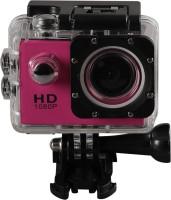 Alria ALACTCAM Sport Camera, Mini 1080P Full HD DV Sports Recorder DVR Waterproof Action Camera Camcorder (Hot Pink) Sports and Action Camera(Pink, 1080 MP)
