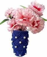 CHL MACRAME FLOWER POT 65 Nylon Flower Basket(W: 4 cm x H: 8 cm x D: 7 cm)