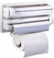 Sellerstory 3 in 1 Kitchen Triple Paper Roll Dispenser Hanger Stand & Holder for Cling Film Wrap Aluminium Foil & Kitchen Roll Triple Paper dispenser -003 Paper Dispenser