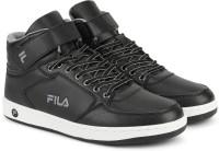 Fila ROBERTO 3 SS 19 High Tops For Men(Black)
