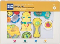MeeMee Baby Gift Set (7 Pieces, Musical) Rattle(Multicolor)