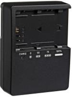 Eshopher Suitable for LP-E6 Battery Free Charging Cable with LC-E6E Battery  Camera Battery Charger(Black)