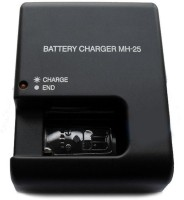 Eshopher Suitabler For En-EL15 Battery Free Charging Cable with MH-25  Camera Battery Charger(Black)