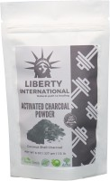 LIBERTY INTERNATIONAL Natural Activated Coconut Shell Charcoal Powder, For Skin Treatment, Instant Teeth Whitening & Face Wash C37(227 g)