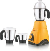 ROYAL TOUCH NA MRGA 600 Mixer Grinder(Yellow, 3 Jars)