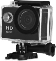 TROST 1080P spoort actiton camera HD 1080p 12MP Waterproof Action Camera Compatible with best quality Sports and Action Camera(Black, Grey, 12 MP)