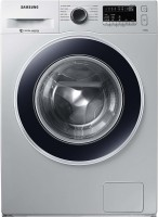 Samsung 7 kg Fully Automatic Front Load Washing Machine with In-built Heater Silver(WW70J4243JS)
