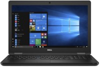 View Dell 5000 Core i3 7th Gen - (4 GB/500 GB HDD/Windows 10 Pro) Latitude 5580 Business Laptop(15.6 inch, Black) Laptop