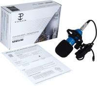 Padraig Professional Microphone Sound Studio Dynamic Portable karaoke Mic BM800 with Shock Mount Home Party Birthday Speaker Machine for PC, Studio Microphone