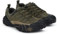 Woodland Hiking & Trekking Shoes For Men(Green)