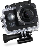 ROBMOB Action Shot 1080 Waterproof Ultra HD 2 inch LCD Display, HDMI Out, 170 Degree Wide Angle Sports and Action Camera  (Black 12 MP) Sports and Action Camera(Black, 12 MP)